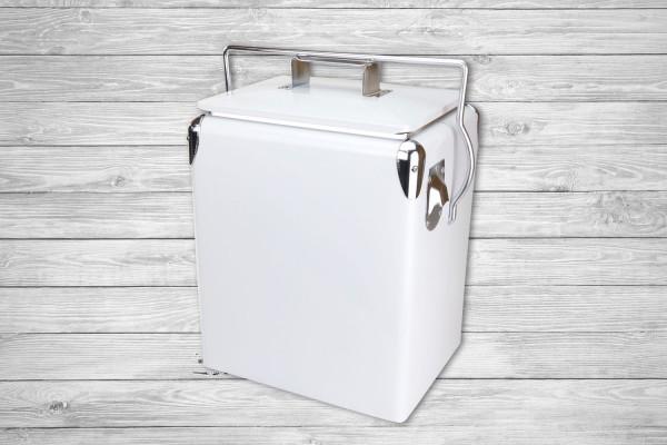 Retro-Kühlbox DAYTONA 17 Weiß