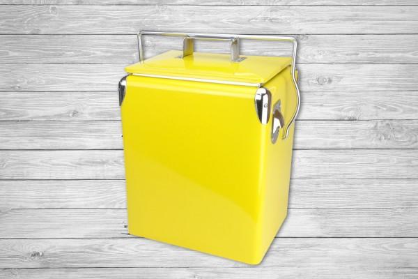 Retro-Kühlbox DAYTONA 17 Gelb