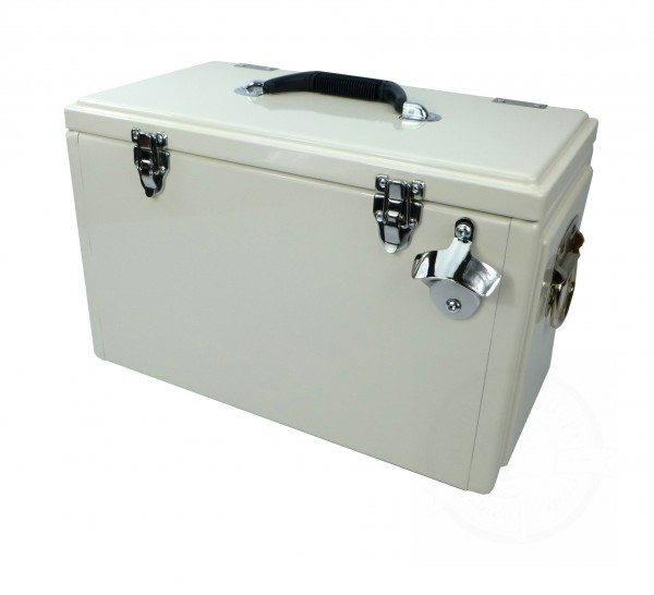 Retro-Kühlbox TOOLBOX Beige