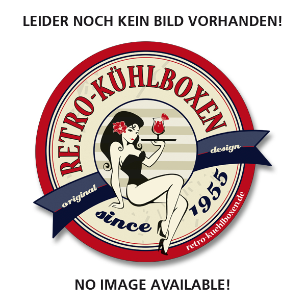 Retro-Kühlbox TOOLBOX Rot